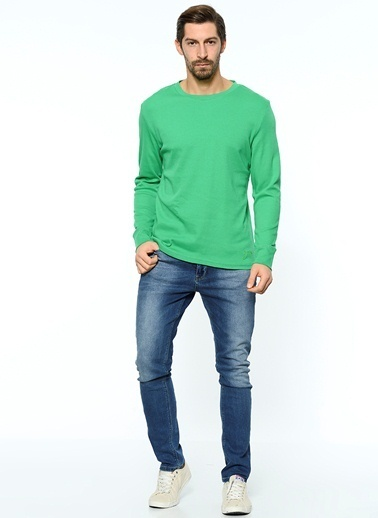 Grip Uzun Kollu Sweatshirt Yeşil